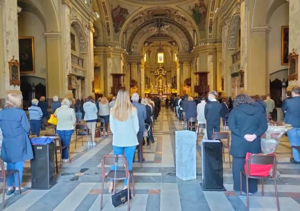 Funerale Federica Cosulich