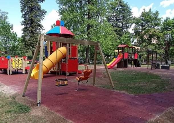 Castiglione Olona parco giochi inclusivo