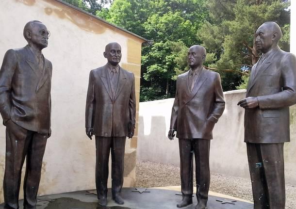 Hommage aux Pères Foundateurs de l'Europe