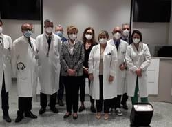 Il vice presidente della Regione Lombardia in visita all'Ospedale di Garbagnate