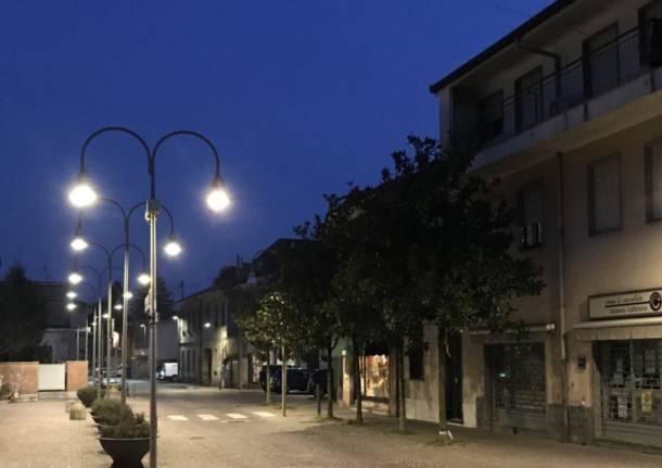 illuminazione pubblica rescaldina