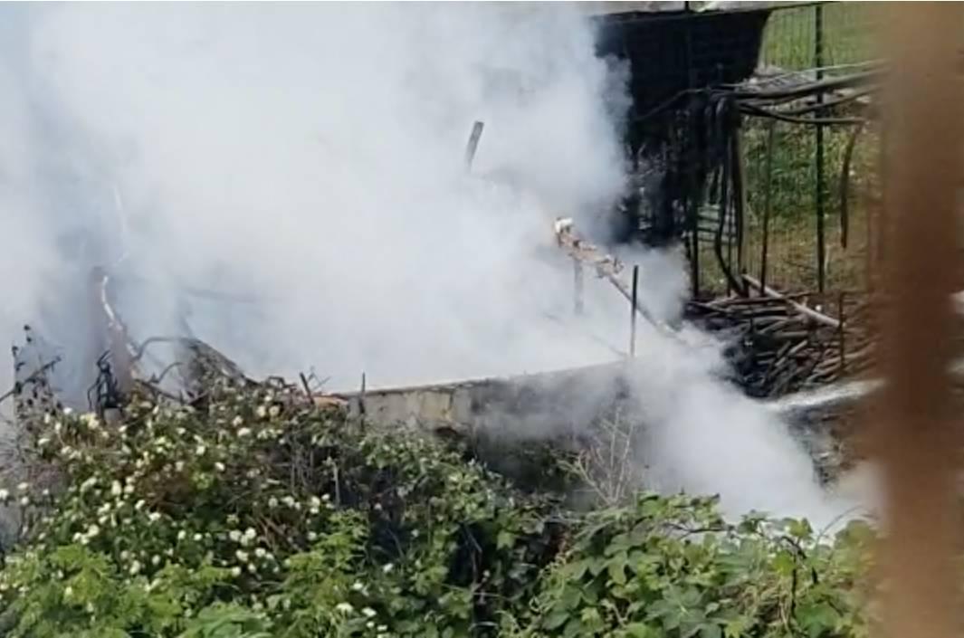 Incendio Gallarate 10 maggio 2021