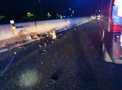 Incidente in autostrada tra Sesto Calende e Besnate