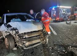 Incidente in autostrada tra Sesto Calende e Besnate