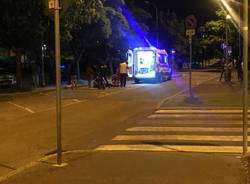 incidente in via Toti a Legnano