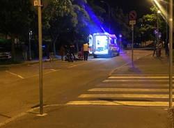 incidente in via Toti a Legnano