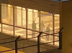 Induno Olona - Vandalismi in stazione