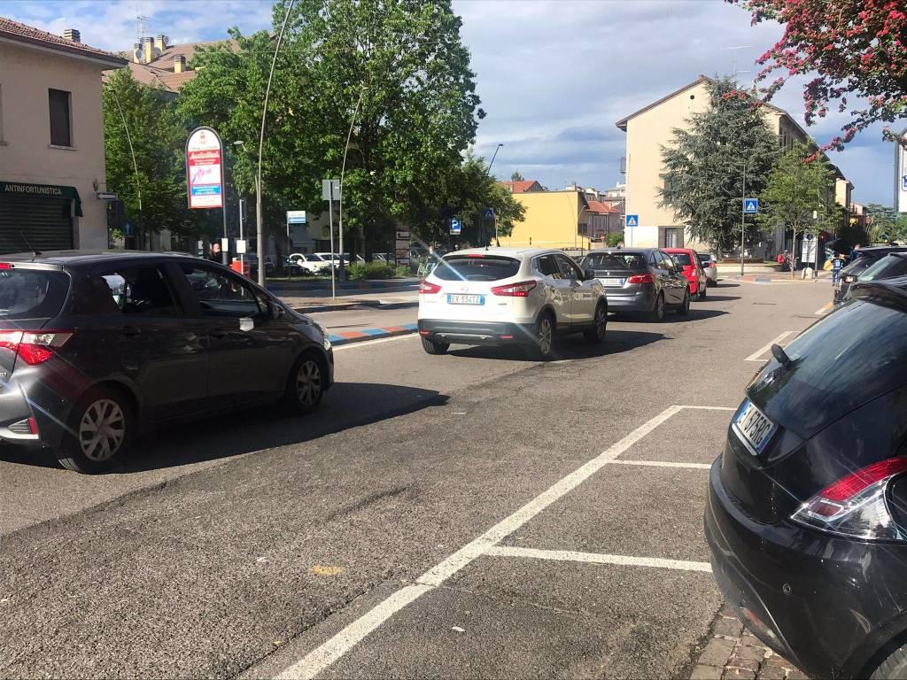 Interisti in centro a Legnano
