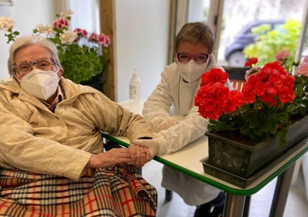 Italia mazzoleni 103 anni Gallarate