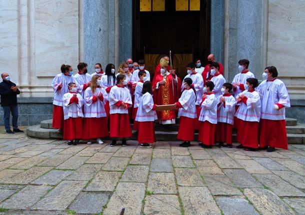 L'arcivescovo Delpini al Santuario Madonna delle Grazie di Legnano