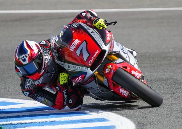 lorenzo baldassarri motociclismo mv agusta forward racing jerez