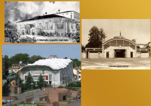 Metamorfosi Urbana: Il mercato coperto perduto, quello mai nato e il teatro provvisorio divenuto stabile