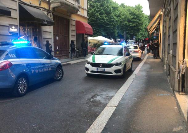 Movida agitata a Legnano