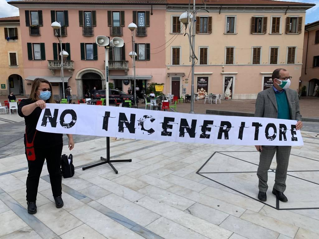 No all'inceneritore