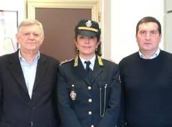 ornella fornara polizia locale san giorgio canegrate cavaliere della repubblica