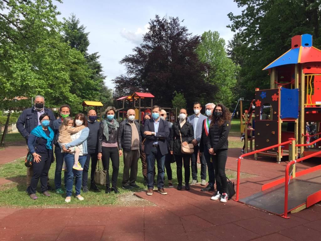 parco inclusivo Castiglione Olona