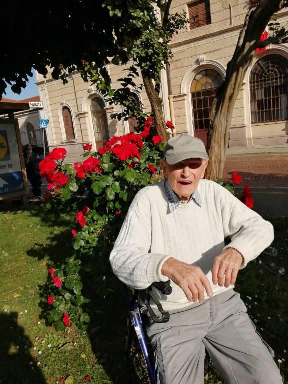 Pietro Cavagnoli di Luino compie 100 anni