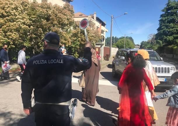 Ramadan, 700 musulmani in preghiera al campo dell'amicizia di Legnano