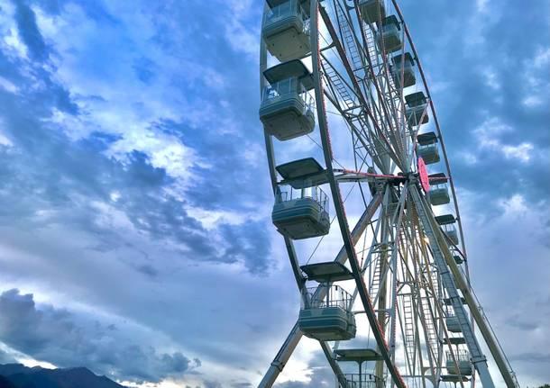 Ruota panoramica Luino - foto di Natalia Bonora