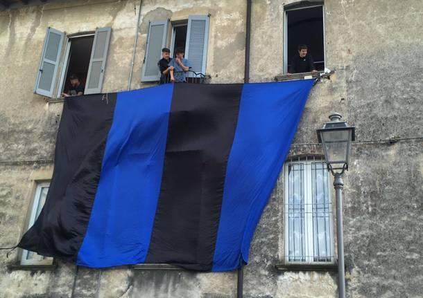 Scudetto dell'Inter, bandiere e festeggiamenti