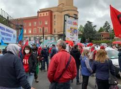 Sindacati in presidio a Varese per la sicurezza sul lavoro