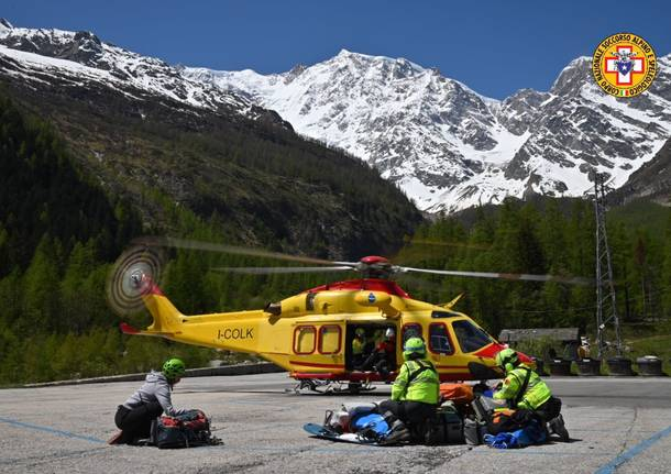 soccorso alpino Piemonte