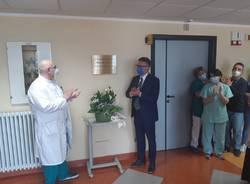 targa ospedale di Luino