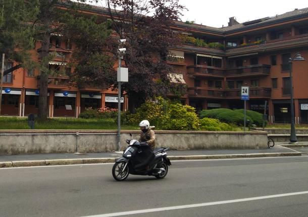 telecamere di videosorveglianza a San Vittore Olona