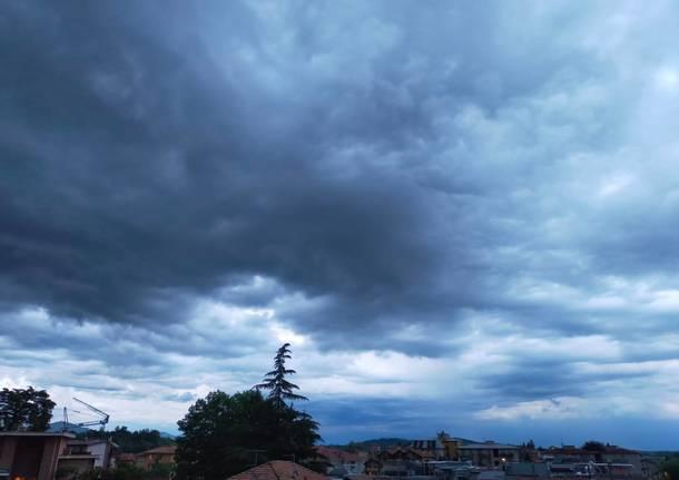 Forte temporale sull'alto Varesotto – Le foto dei lettori