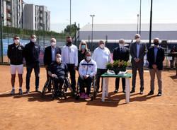 Tennis in carrozzina allo Sporting Club Saronno