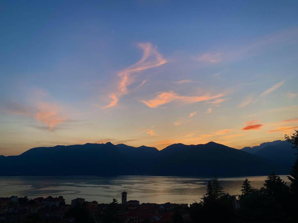 Tramonto sul Lago Maggiore - foto di Elena De Vincenti