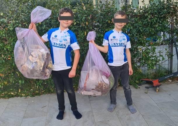 Triathlon dei rifiuti degli atleti Oxygen