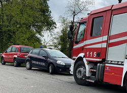 Vigili del fuoco volontari inveruno
