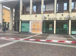 villa cortese assalto al bancomat