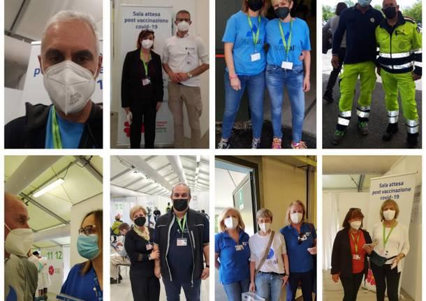 volontari hub vaccini schiranna