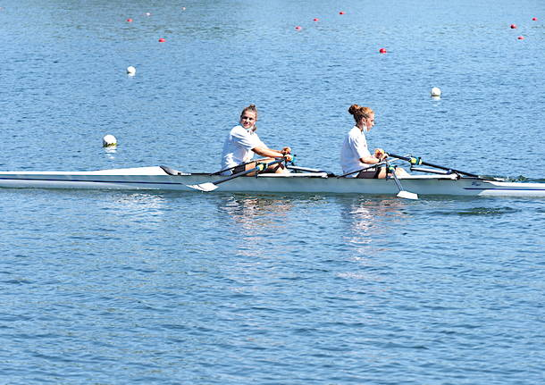 Una giornata al lago coi campionati italiani assoluti di canottaggio
