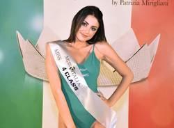 Alessia Cattaneo, da Misinto alle finali regionali di Miss Italia