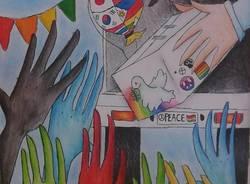 Arte per la pace all'aperto medie IC Castronno