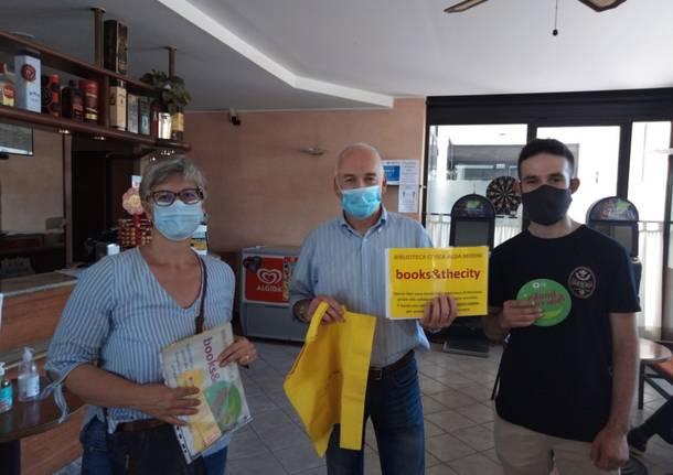 Books & TheCity, a Nerviano, in quattro locali pubblici