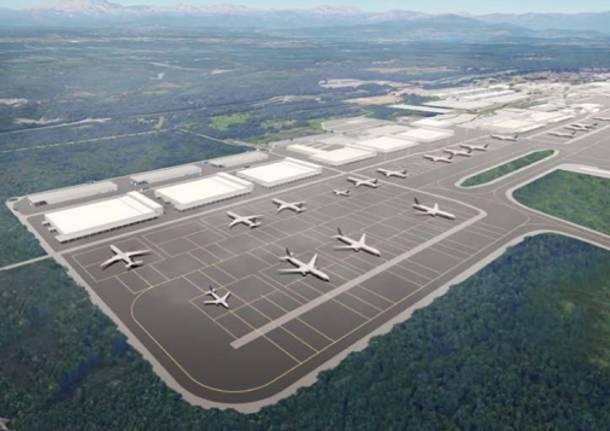 Cargo City espansione masterplan Malpensa