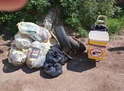 Continua la battaglia contro i rifiuti in Valganna