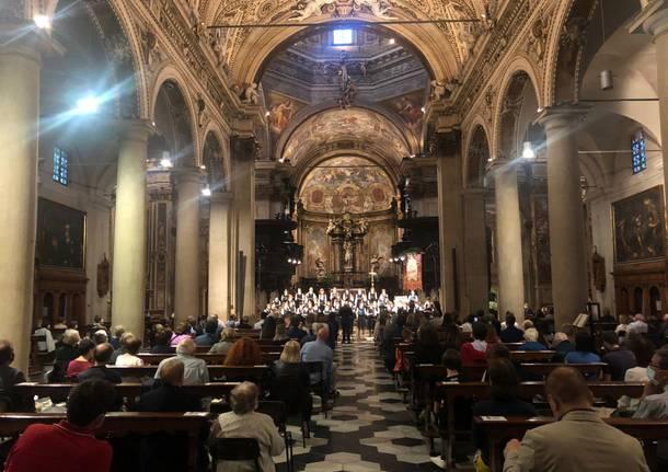 Alla Basilica di San Vittore il debutto della Stagione Musicale di Varese
