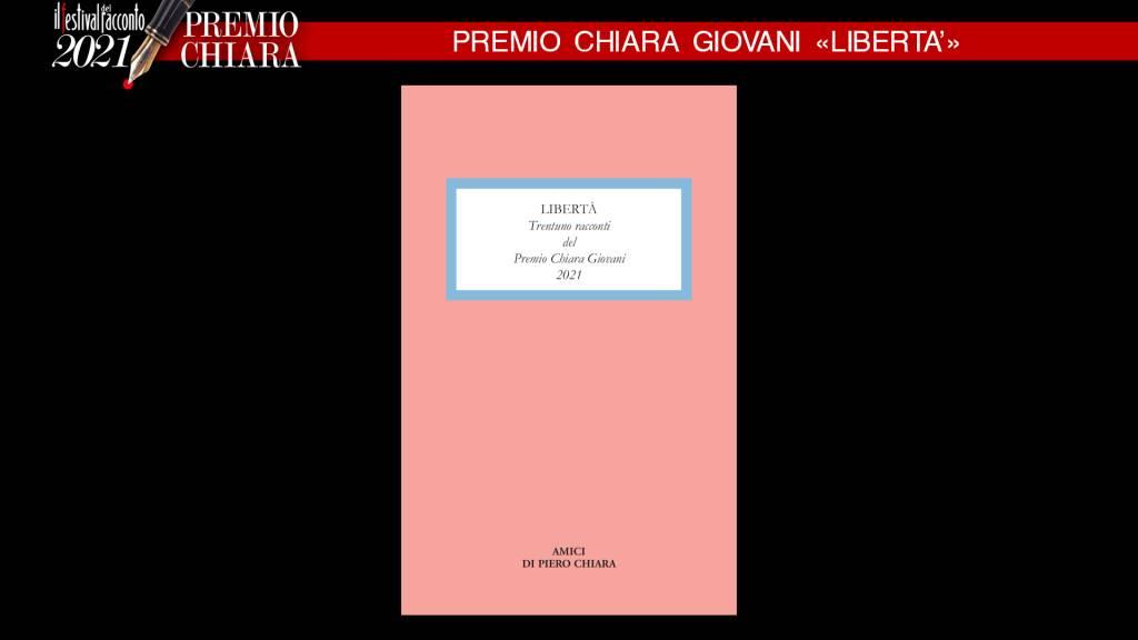 Incontro coi finalisti del Premio Chiara Giovani 2021