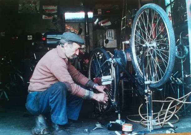 Il Silvio delle biciclette a Cuveglio
