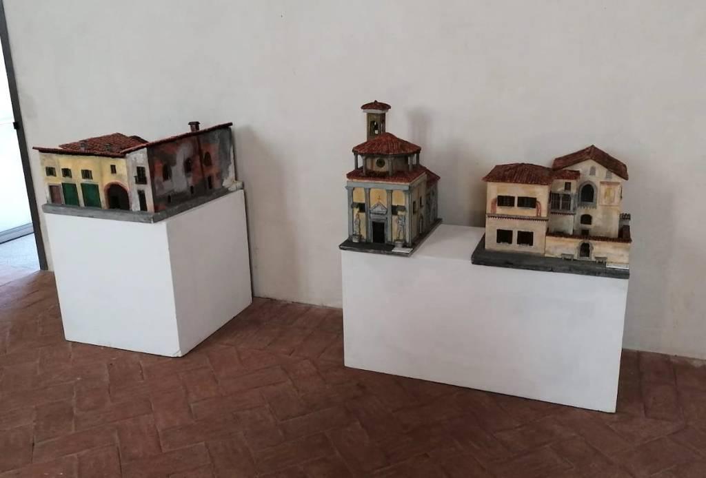 Castiglione Olona - Modellini di Mario Albrigi a AbmodelExpo ad Abbiategrasso