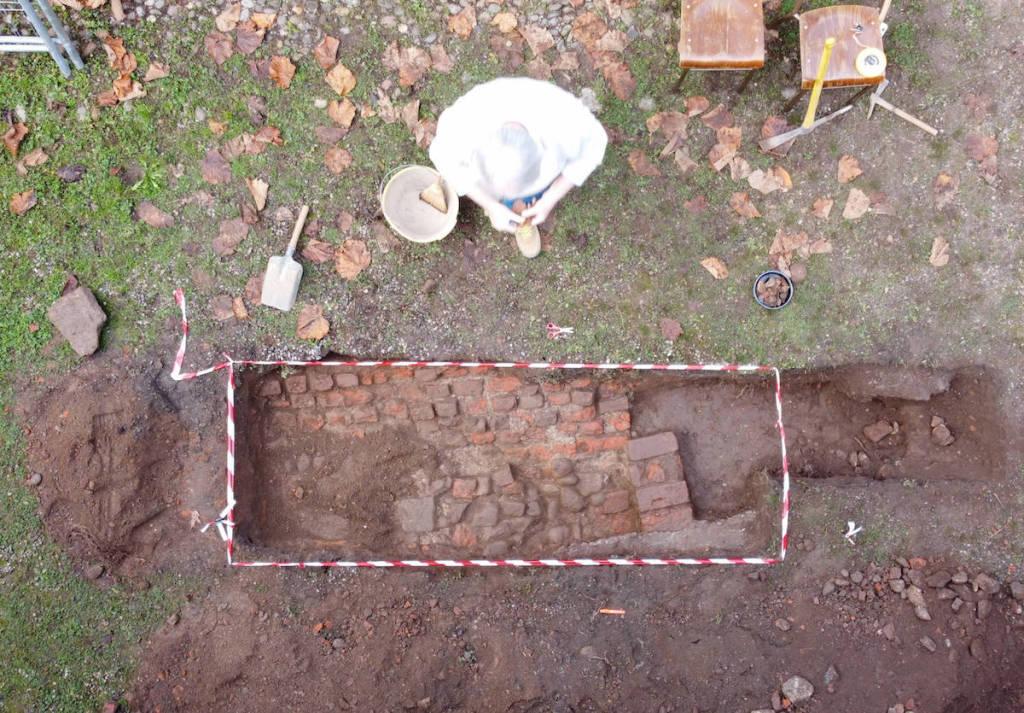 Castiglione Olona - Nuovi ritrovamenti archeologici in Collegiata
