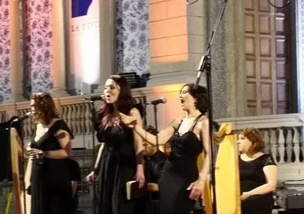La Celtic Harp Orchestra incanta Saronno