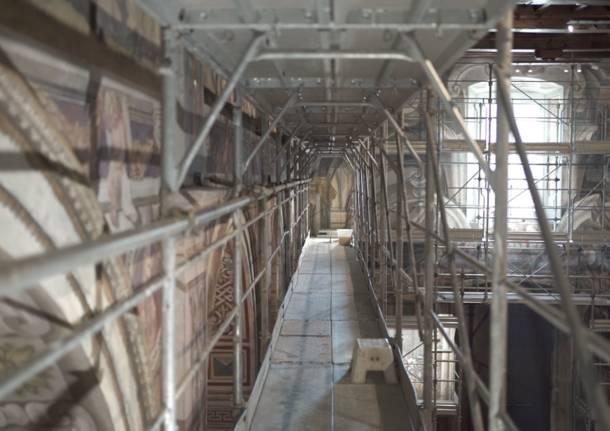 Chiesa San Francesco, terzo lotto dei lavori di restauro