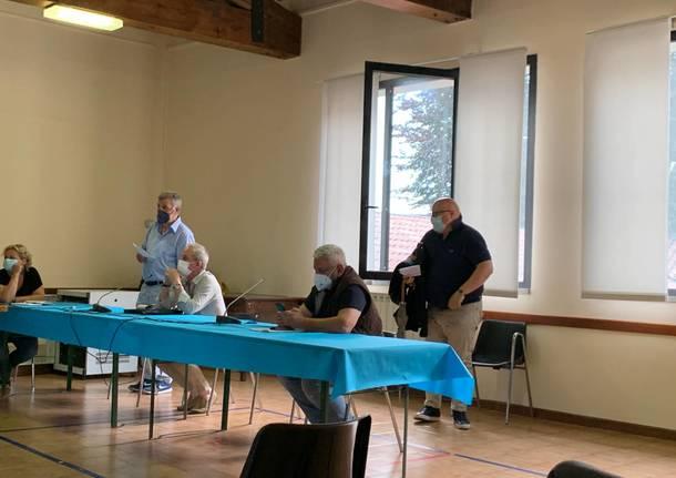 Consiglio comunale Azzate, giugno 2021
