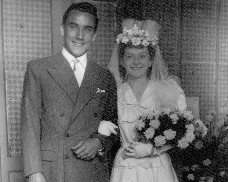 Enrico e Fulvia, 75 anni di matrimonio a Porto Ceresio